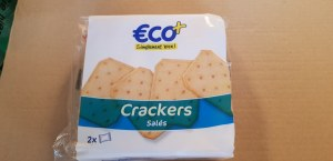 Crackers salés 2x100g 1€ le lot de 3